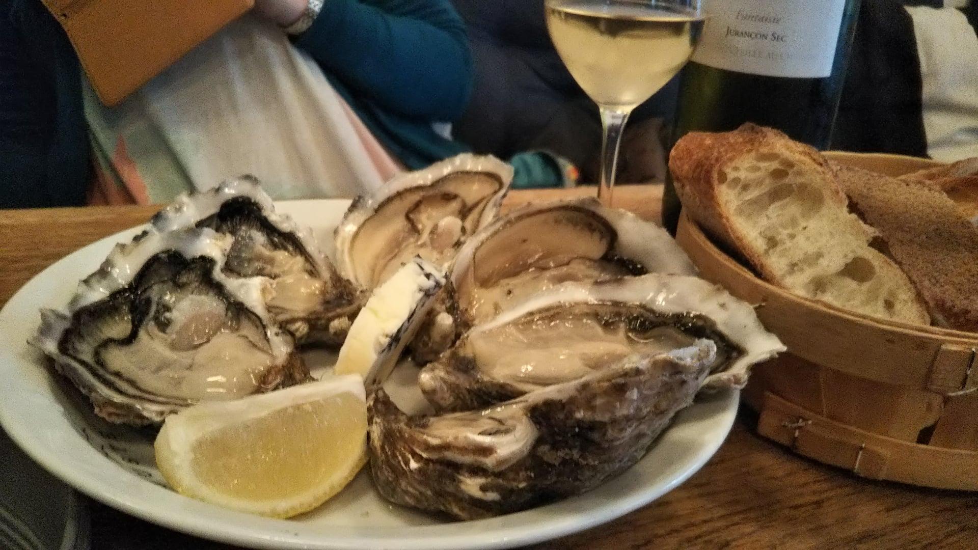 パリの海鮮の食べ方